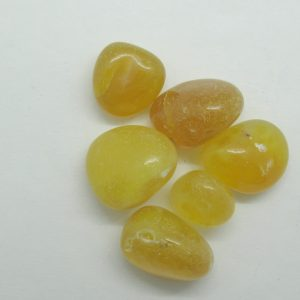 Healing Light Online Psychics New Age Shop Merchandise Yellow Agate Tumblestone