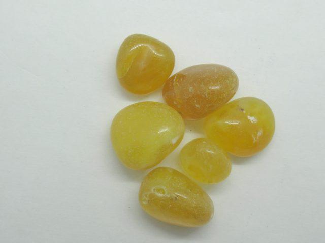 Healing Light Online Psychics New Age Shop Merchandise Yellow Agate Tumblestone