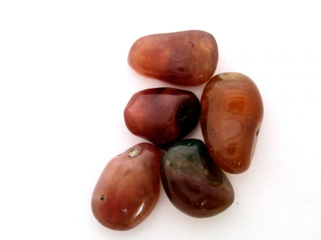 Healing Light Online Psychics New Age Shop Merchandise Carnelian Tumblestone