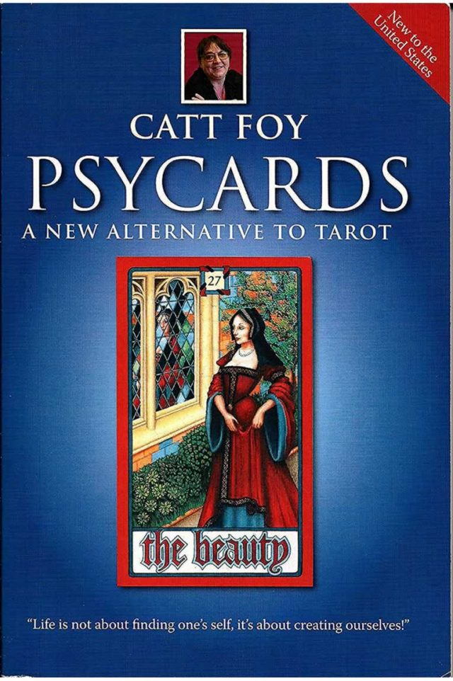 Healing Light Online Psychics Psycards book by Catt Foy for sale