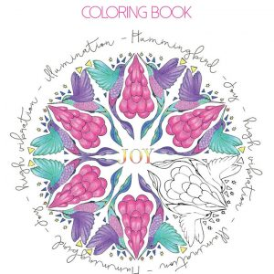 Healing Light Online Psychics Spirit Animal Colouring Book by Sarah Wilder for sale