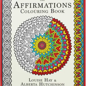 Healing Light Online Psychics The Affirmations Colouring Book by Louise Hay for sale