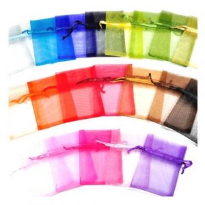 Healing Light Online Psychic Readings and Merchandise Organza Bag
