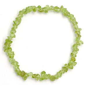 Healing Light Online Psychic Readings and Merchandise Peridot Fine Chip Bracelet