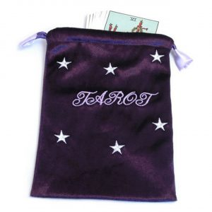 Healing Light Online Psychic Readings and Merchandise Purple Tarot Bag