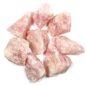 Healing Light Online Psychic Readings and Merchandise Rose Quartz Rough small