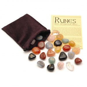Healing Light Online Psychic Readings and Merchandise Runes Mixed Crystal