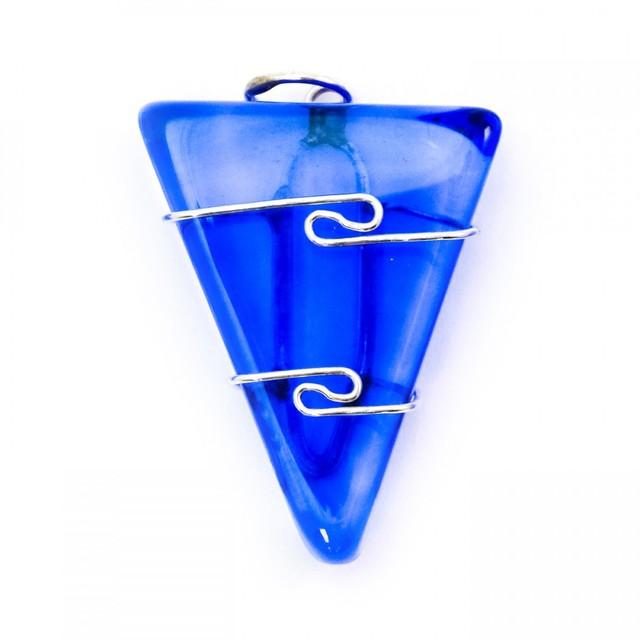 Healing Light Online Psychic Readings and Merchandise Siberian Blue Quartz Wire Wrap Pendant