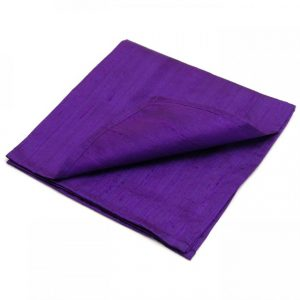 Healing Light Online Psychic Readings and Merchandise Purple Silk Reading Cloth