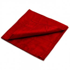 Healing Light Online Psychic Readings and Merchandise Deep Red Silk Reading Cloth