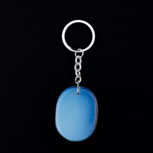 Healing Light Online Psychic Readings and Merchandise Opalite Crystal Keyring