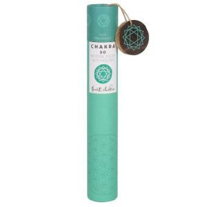 Healing Light Online Psychic Readings and Merchandise Gift Set Heart Chakra Incense Sticks with Mint Scent