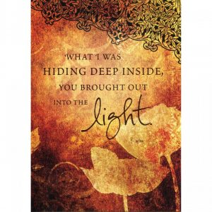 Healing Light Online Psychic Readings and Merchandise Into The Light Blank Greeting Card from Tree Free