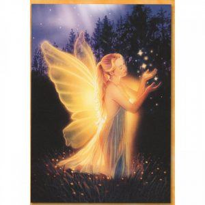 Healing Light Online Psychic Readings and Merchandise Keeper Of The Lost Hearts Blank Greeting Card by Kirk Reinert