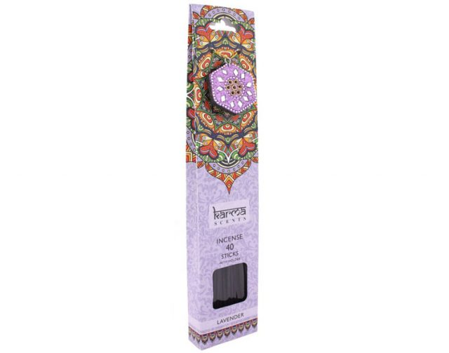 Healing Light Online Psychic Readings and Merchandise Gift Set Lavender incense sticks by Karma Scents
