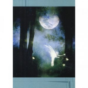 Healing Light Online Psychic Readings and Merchandise Mystic forest Blank Greeting Card by Tree Free