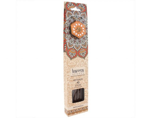 Healing Light Online Psychic Readings and Merchandise Gift Set Patchouli incense sticks by Karma Scents