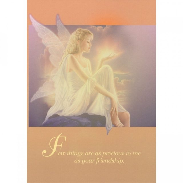Healing Light Online Psychic Readings and Merchandise Precious Friendship Greeting Card by Tree Free