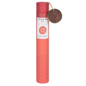 Healing Light Online Psychic Readings and Merchandise Gift set Root Chakra Incense Sticks with Strawberry Frangrance