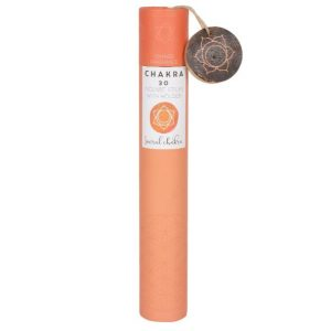 Healing Light Online Psychic Readings and Merchandise Gift Set Sacral Chakra Incense Sticks with Orange Fragrance