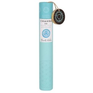Healing Light Online Psychic Readings and Merchandise Gift Set Throat Chakra Incense Sticks with Blueberry scent