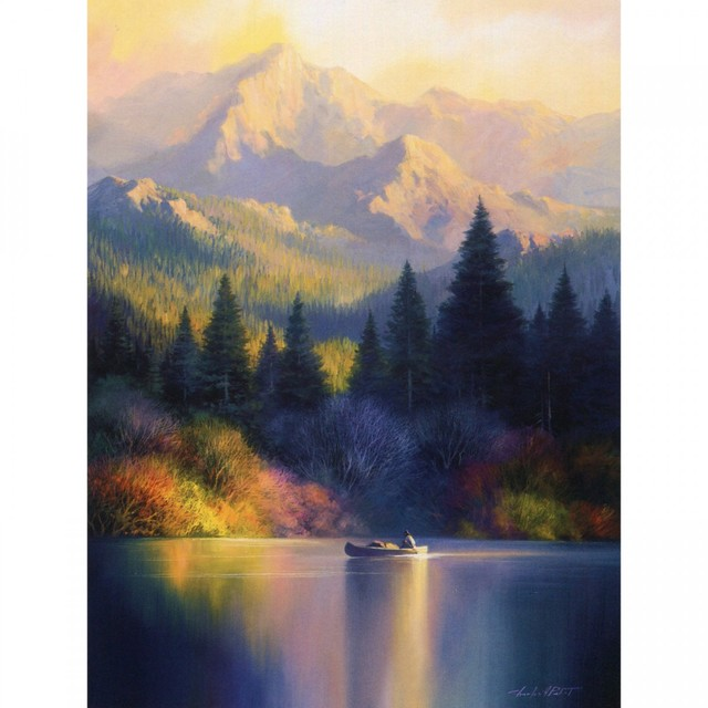 Healing Light Online Psychic Readings and Merchandise Sympathy greeting card tranquil shores by Leanin Tree