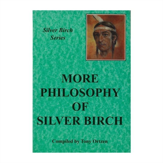 Healing Light Online Psychic Readings and Merchandise More Philosophy of Silver Birch Book by Tony Ortzen