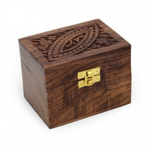 Healing Light Online Psychic Readings and Merchandise Ornate Storage Box for 6 essential oils