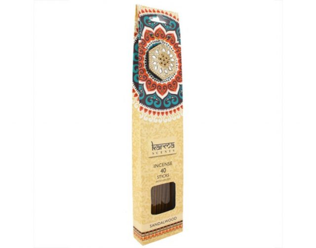 Healing Light Online Psychic Readings and Merchandise Gift Set Sandalwood incense sticks by Karma Scents