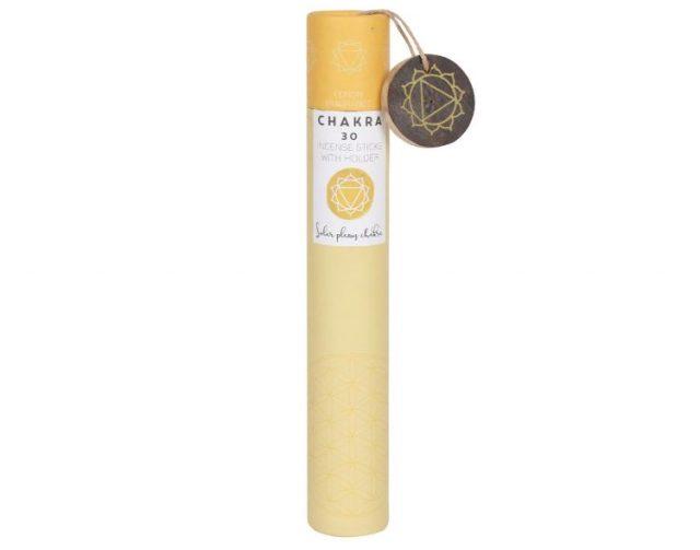 Healing Light Online Psychic Readings and Merchandise Gift Set Solar Plexus Incense Sticks with Lemon Scent