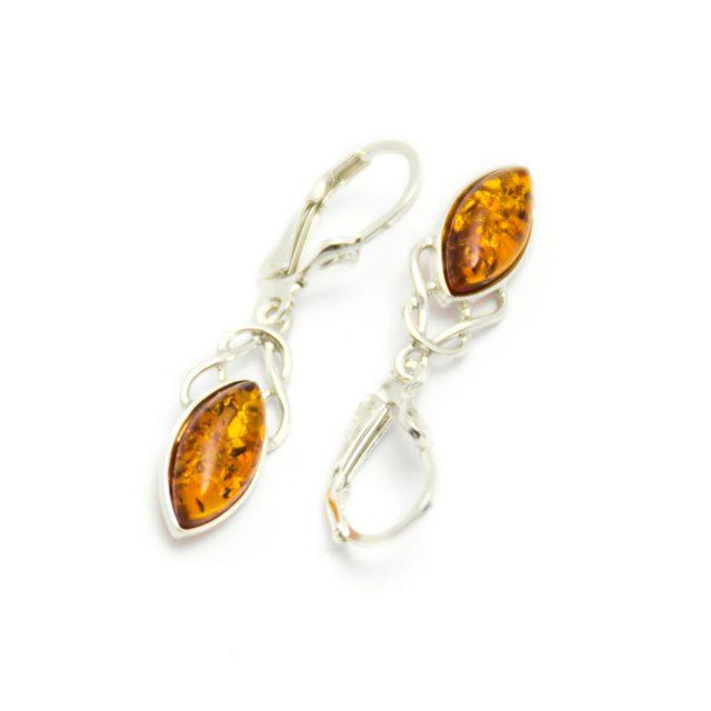 Healing Light Online Psychic Readings and Merchandise Baltic Amber Drop Earrings