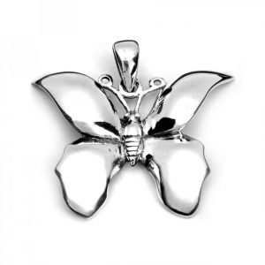 Healing Light Online Psychic Readings and Merchandise Sterling Silver Butterfly Pendant