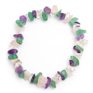 Healing Light Online Psychic Readings and Merchandise Four Stone Chip Bracelet