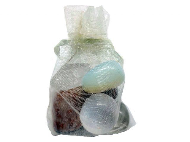 Healing Light Meditation Pack Crystals to aid Meditation Crystals in Bag