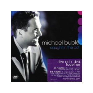 Caught in the Act by Michael Bublé CD and DVD For Sale
