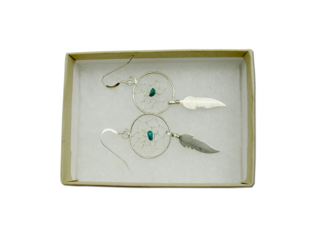 Earrings Turquoise Dream Catcher for Sale at Healing Light