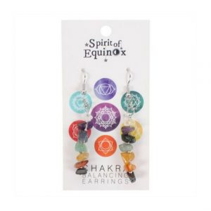 Healing Light Online Psychics and New-Age Shop Spirit of Equinox Chakra Balancing Earrings for Sale