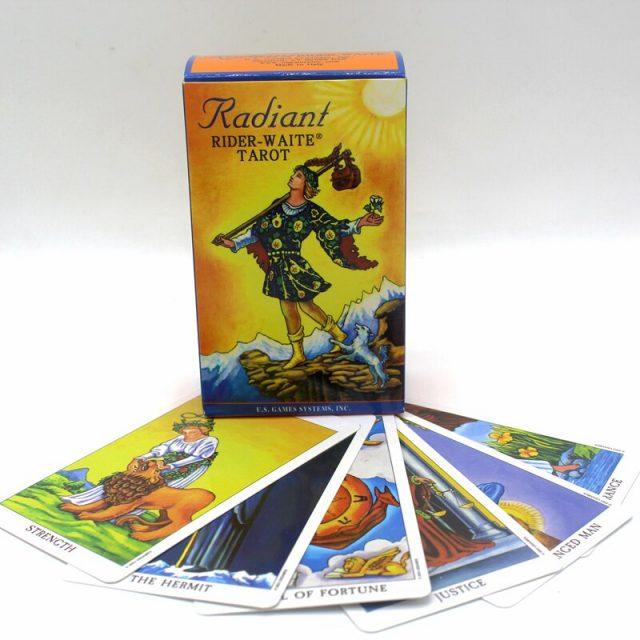 Healing Light Online Psychic Readings and Merchandise The Radiant Waite tarot Deck