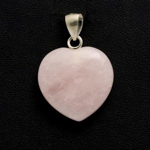 Healing Light Online Psychic Readings and Merchandise Rose Quartz Pendant Heart