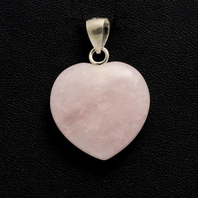 Healing Light Online Psychic Readings and Merchandise Rose Quartz Pendant Heart