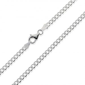 Healing Light Online Psychic Readings and Merchandise Curb silver chain 24 inch for men