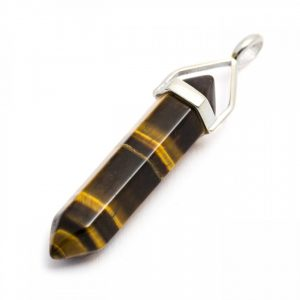 Healing Light Online Psychic Readings and Merchandise Tigers Eye Point Pendant