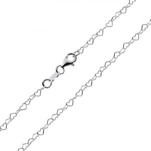 Healing Light Online Psychic Readings and Merchandise Heart silver chain 20 inch
