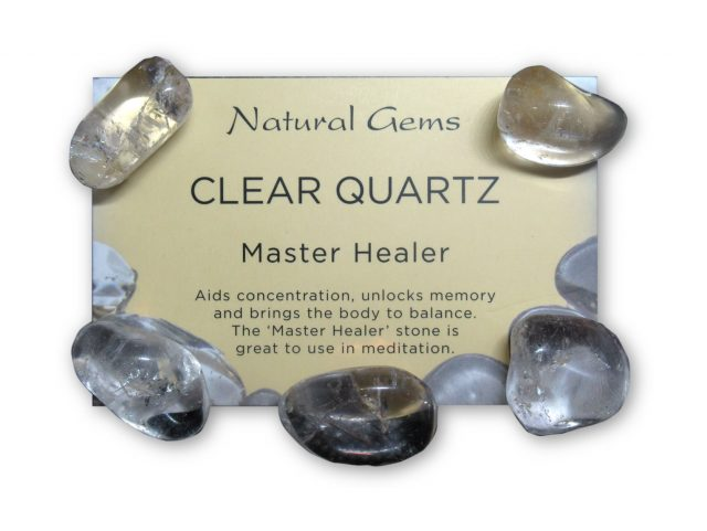 Healing Light Online Psychic Readings and Merchandise Clear Quartz Crystal Pack