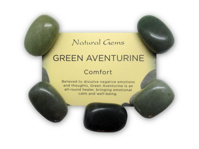 Healing Light Online Psychic Readings and Merchandise Green Aventurine Crystal Pack