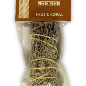 Healing Light Online Psychic Readings and Merchandise Sage and Copal Smudge stick Small