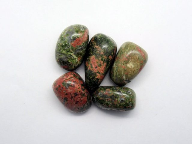 Healing Light Online Psychic Readings and Merchandise Unakite Crystal Pack