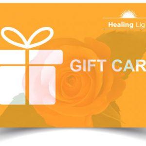 healing Light Gift Card image