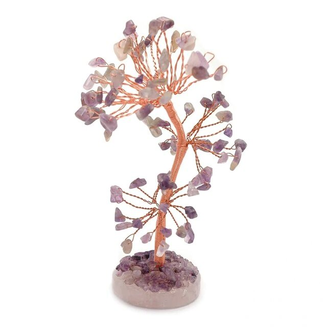 Healing Light Online Psychic Readings and Merchandise Crystal gem Tree Amethyst