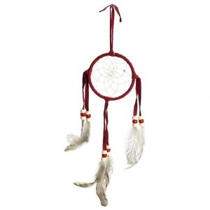Healing Light Online Psychic Readings and Merchandise Red Dream Catcher